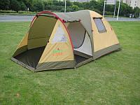 Палатка 3-х местная GreenCamp Х-1504, фото 1