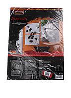 L-8-280017, Декоративная наклейка на стену 47,4*65*7см, , серый-разноцветный