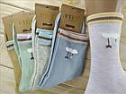 Носки женские высокие деми UYUT women cotton socks хлопок 36-41р.бесшовные с двойной пяткой ассорти НЖД-021248, фото 4