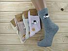 Носки женские высокие деми UYUT women cotton socks хлопок 36-41р.бесшовные с двойной пяткой ассорти НЖД-021249, фото 2