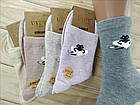 Носки женские высокие деми UYUT women cotton socks хлопок 36-41р.бесшовные с двойной пяткой ассорти НЖД-021249, фото 4