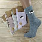 Носки женские высокие деми UYUT women cotton socks хлопок 36-41р.бесшовные с двойной пяткой ассорти НЖД-021249, фото 6