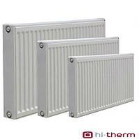 Батареи стальные панельные hi-therm 300*11*1600 бок