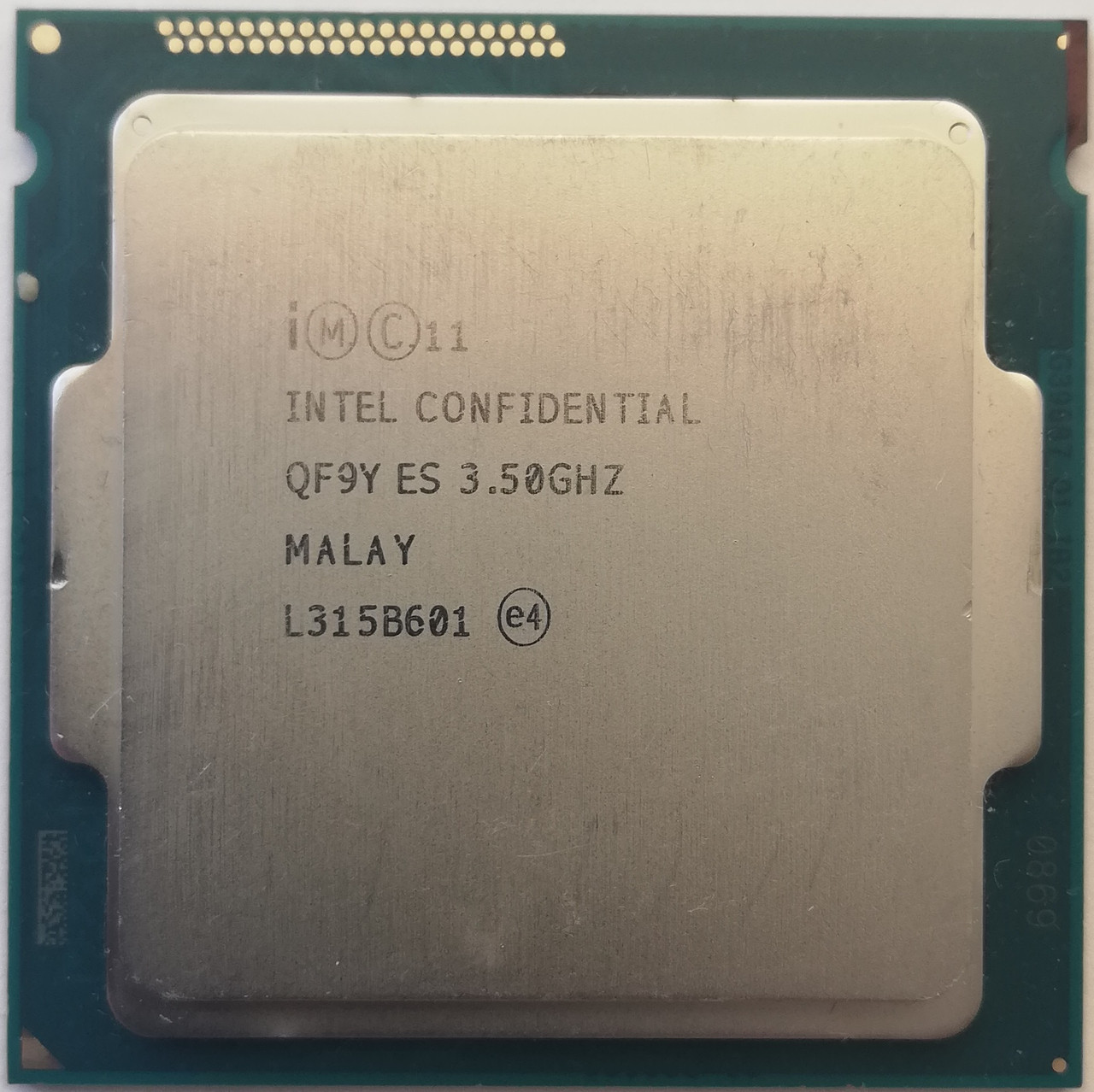 Процессор Intel Core i7 - 4771 C0 QF9Y 3.5GHz up 3.9GHz 8M Cache Socket 1150 Б/У