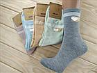 Носки женские высокие деми UYUT women cotton socks хлопок 36-41р.бесшовные с двойной пяткой ассорти НЖД-021250, фото 3