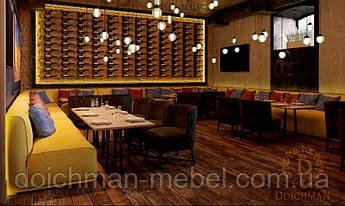 Мягкие диваны релакс для ресторана