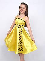 Платье нарядное детское летнее М -876 рост 128