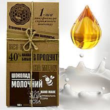 Молочный шоколад - Первая Мануфактура Эко Шоколада, 100 грамм