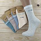Носки женские высокие деми UYUT women cotton socks хлопок 36-41р.бесшовные с двойной пяткой ассорти НЖД-021253, фото 5