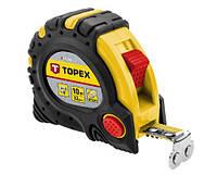 TOPEX Рулетка, стальная лента 5 м x 25 мм,  магнит 27C345