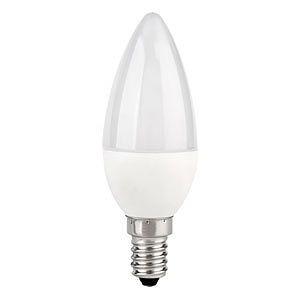 Светодиодная лампа Z- LIGHT 10W С37 E14 4000K Код.59085