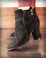"Женские ботинки ""Victoria"" из натур. кожи или замши в моделях.  АЛ-10-0319"