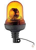 Мигалка желтая под лампочку 24 вольт TR517-3 для грузовиков (8315TR5173)