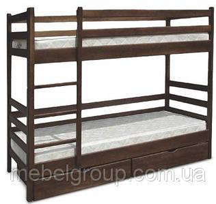 Двох'ярусне ліжко Засоня 80х190 см
