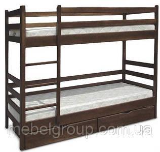 Двухъярусная кровать Засоня 80х190 см