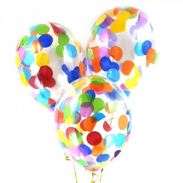 купить конфетти для воздушных шаров в Украине
