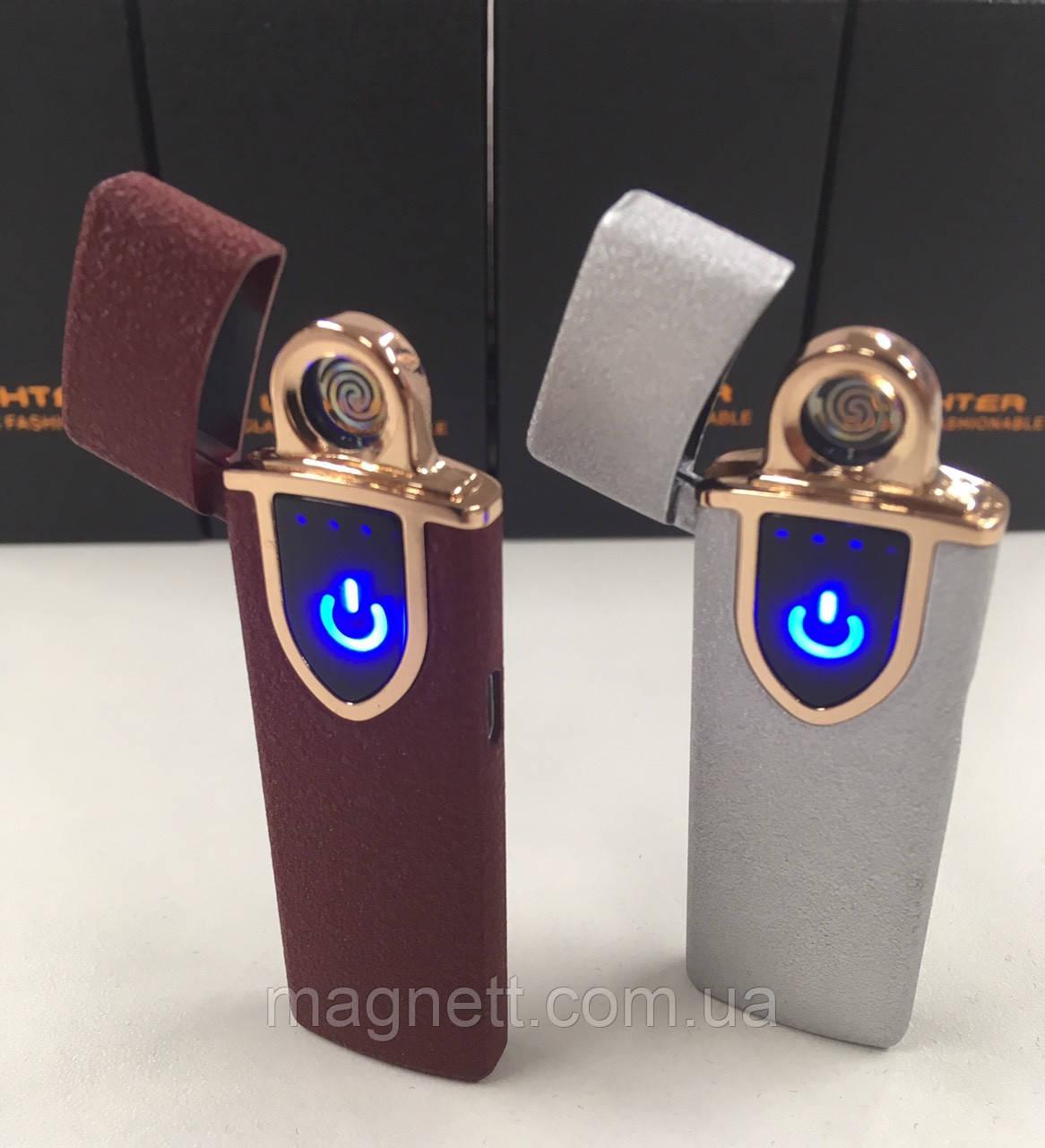 Сенсорная USB зажигалка Lighter 717