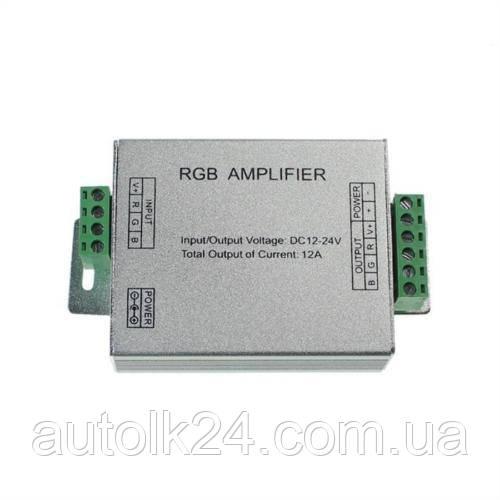 "Усилитель контроллера ""AMPLIFIER-12A"" RGB 144W 12A 12-24V"