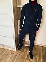 Спортивный костюм мужской, весенний, осенний в стиле Puma BMWMotorsport darkblue