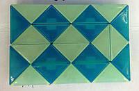 Головоломка кубик-рубика Змейка, фосфорная