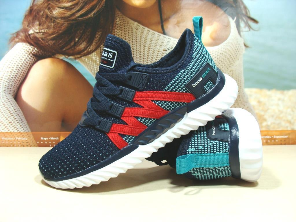 Женские кроссовки BaaS ADRENALINE GTS 1 сине-красные 37 р.