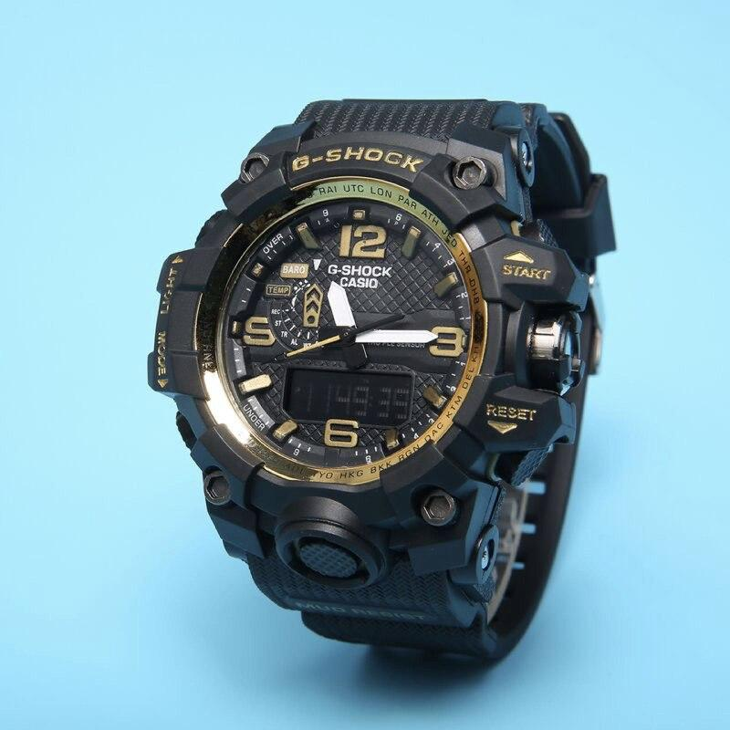394d8250 Спортивные мужские часы Casio G-Shock GWG-1000 Black Gold: продажа ...