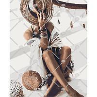 """Набор для рисования картины своими руками """"Бронзовое лето"""" 40х50см, С коробкой"""