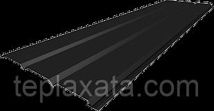 Софит металлический без перфорации, Китай, полиестер 0.4 мм