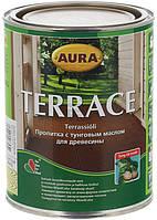 AURA TERRACE 2,7 л пропитка с тунговым маслом для древесины Бесцветная