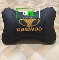 Подушка на подголовник DAEWOO (немецкая эко-кожа)
