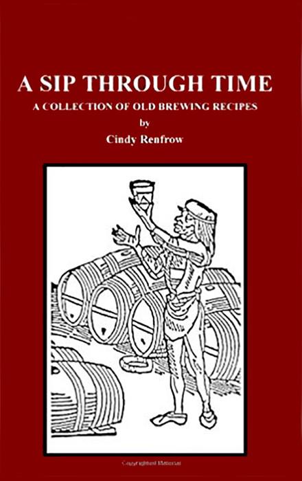 A sip through time — книга, з якої історичний реконструктор Джефф Джонстон дістав аутентичний рецепт bilbemel. Фото з https://www.amazon.com/.