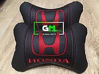 Подушка на подголовник HONDA (немецкая эко-кожа)
