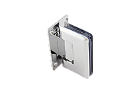 Петля для стеклянной двери с креплением к стене 90 градусов (стена-стекло)