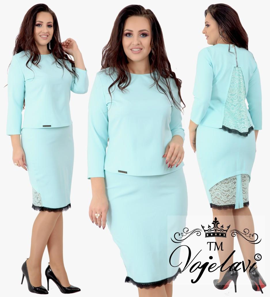 Женский стильный костюм  ОА702 (бат)
