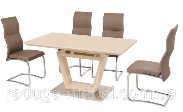 Стол кухонный обеденный бежевый TМ-51