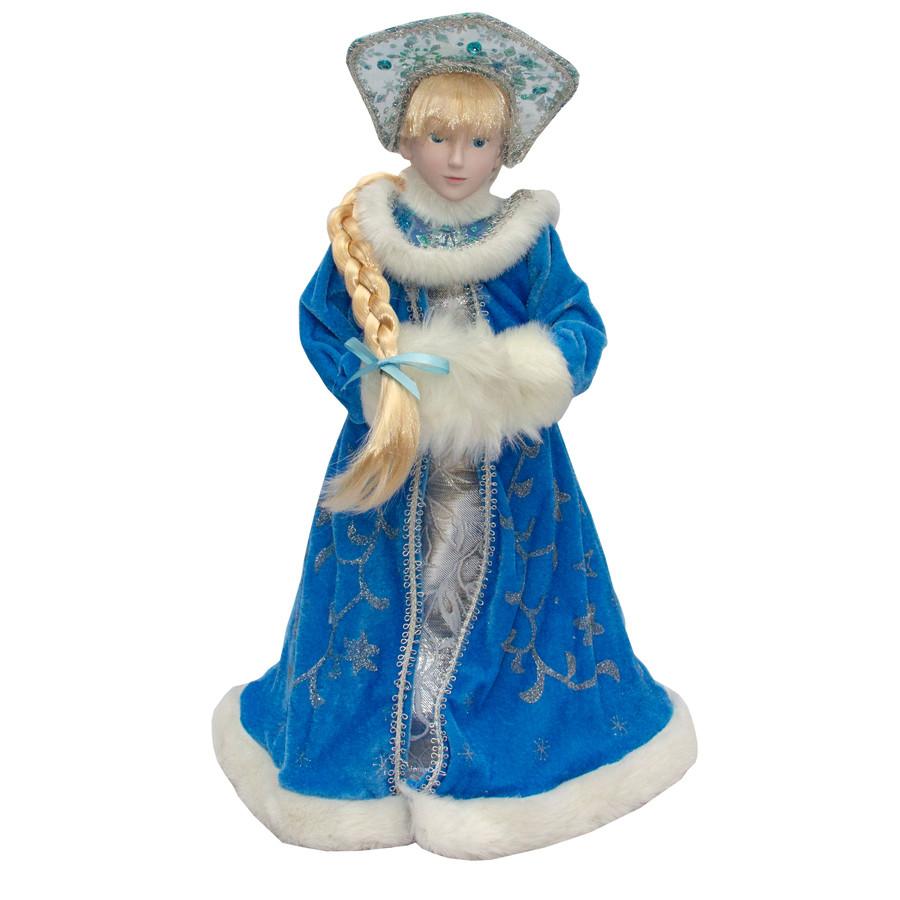 Новогодняя сувенирная фигурка Снегурочка,  45 см, (600083-1)