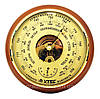 Барометр анероид «Утес/Крэт» БТК СН 8 с термометром, большой (⌀175мм)