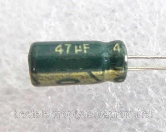 Конденсатор электролитический 47мкф 100 В