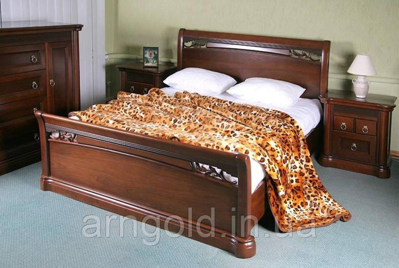 Кровать деревянная Шопен Arngold 180х200
