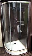 Душевая кабина Veronis KN-3-100 PREMIUM 100х100х204 прозрачное стекло с поддоном