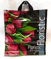 Пакет с петлевой ручкой Floristic, 42х36см, фото 1