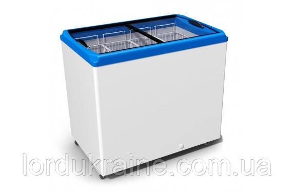 Морозильный ларь с плоским стеклом Juka M300 P