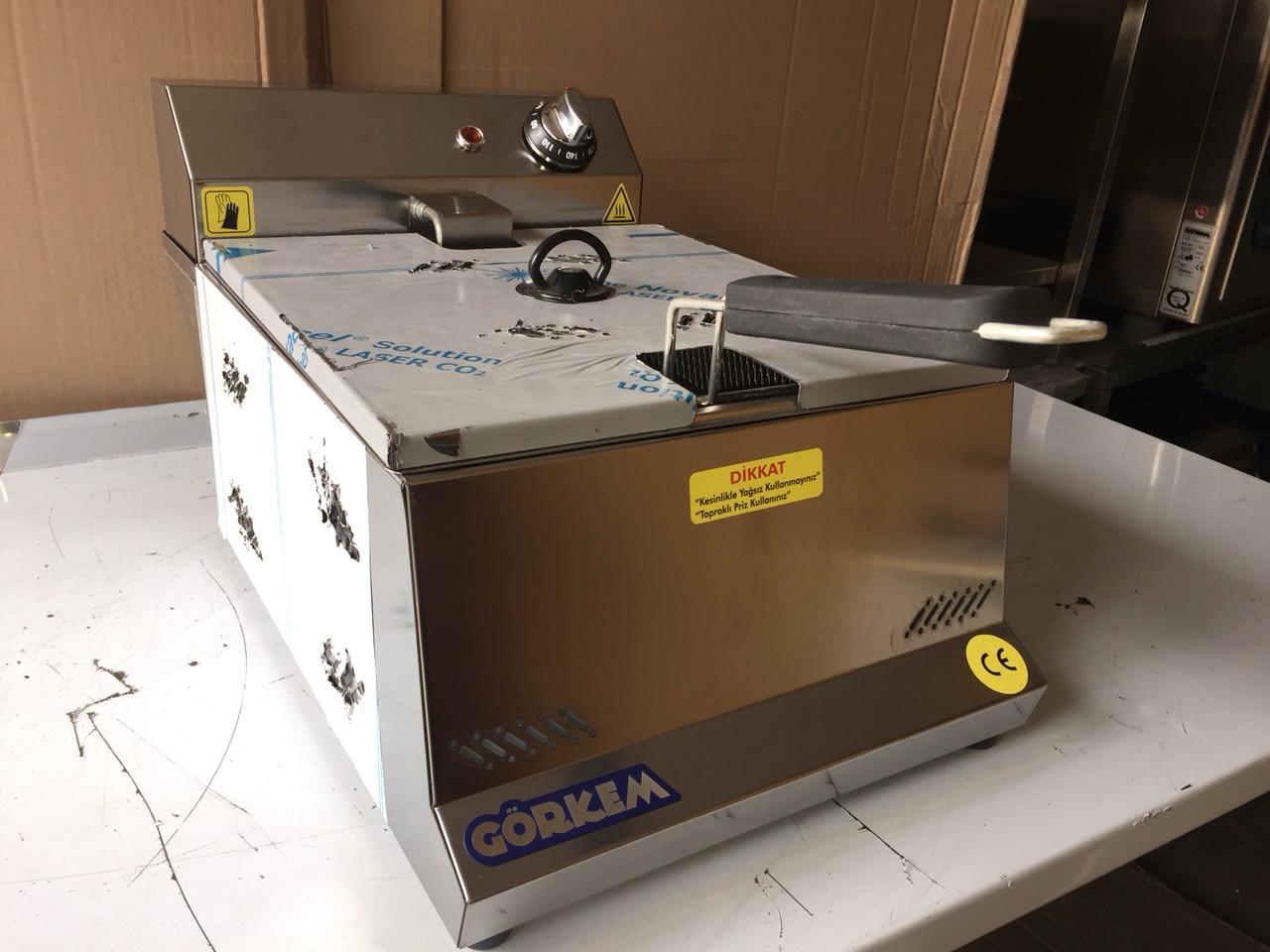 Görkem: Фритюрница электрическая фритюр Görkem FE 80 (8 литров)