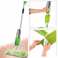 Умная швабра 3 в 1 с распылителем Healthy Spray Mop Deluxe, зеленый цвет