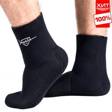 Носки для дайвинга Marlin Anatomic Duratex 9mm 46-47 черные
