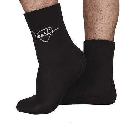 Носки для дайвинга Marlin Anatomic Duratex 7мм 46-47 черные, фото 2