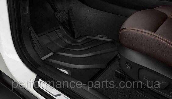 Коврики оригинальные новые BMW X3 F25, X4 F26 перед + зад 4 штуки 51472286003 51472286001