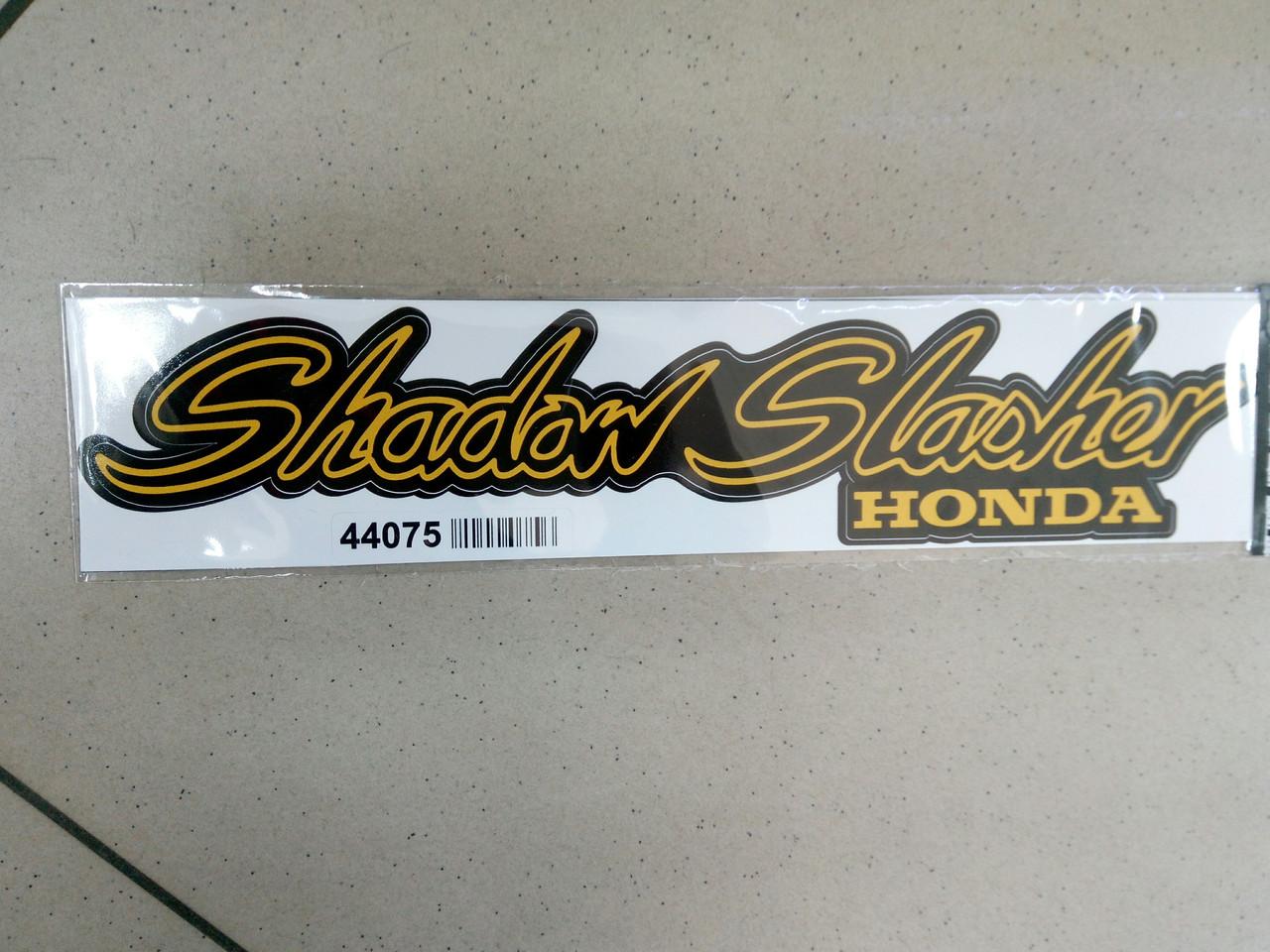 Виниловые наклейки на мотоцикл HONDA SHADOW  28х6 см  2 шт.
