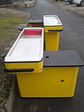 Касовый бокс 1,50 м. бу  кассовое оборудование бу., фото 2