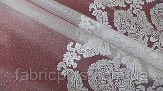Тюль микросетка с вышивкой В-285 (Мелиса 55-02)
